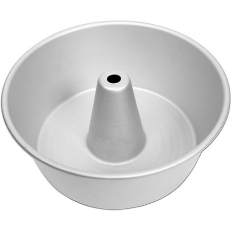 Fat Daddio's PAF-10425 Anodized Aluminum Angel Food Cake Pan, 10 x 4.25 Inches (Angel Food Cake Pan 7 Inch)