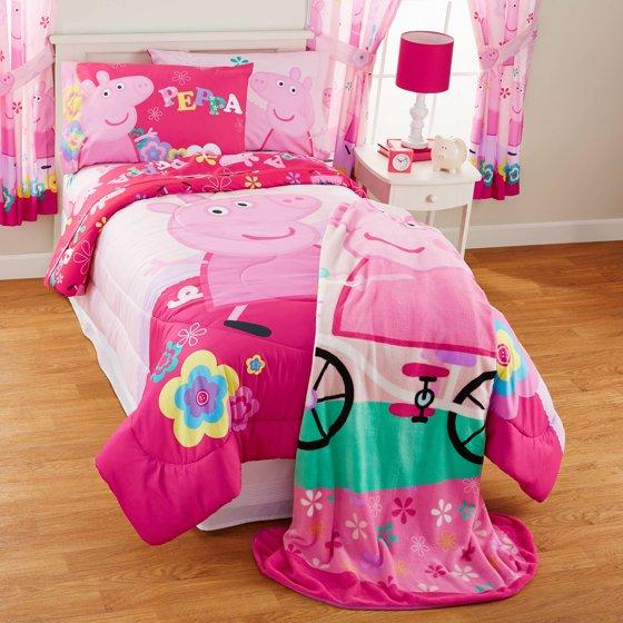 Peppa Pig Tweet Oink Twin Full Bedding Comforter
