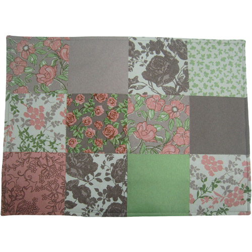 Mainstays Patchwork Quilted Placemats, Set of 4