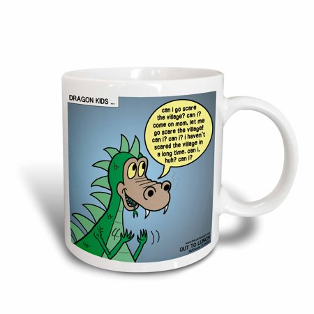 3dRose Dragon Kids, Ceramic Mug, - Kids Ceramic