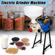 220V 2.2KW Wet&Dry Flour grindmachine Mill Grinding Machine Grinder Feed Soymilk Rice Corn Coffee,Copper Wire