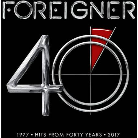 Foreigner - 40 (2 CD) Atlantic 100 Cd Steel