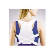 Fla Orthopedics Posture Control Shoulder Brace  White  Medium