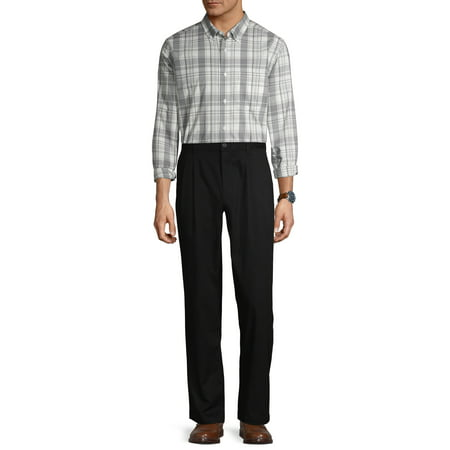 Men's Pleated Wrinkle Resistant Pant