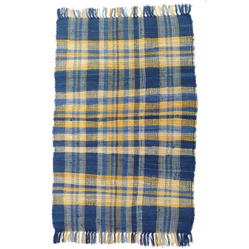 Artim Home Textile Country Blue/Yellow Area Rug