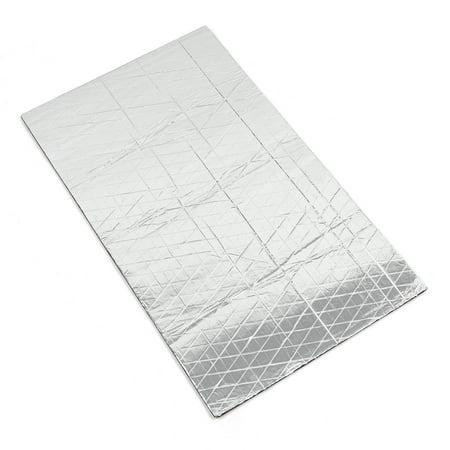 1.6sqft Sound Deadener Heat Insulation Mat Hood Floor Door 50 x 30 x 0.5cm for