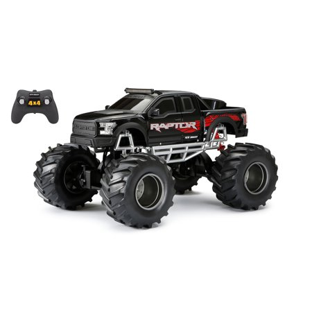 New Bright 1:8 Radio Control 4x4 Ford Raptor Truck - Black