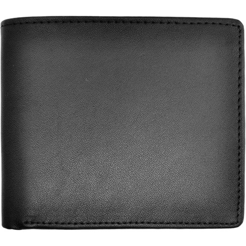 Royce Leather RFID Blocking Men's Bifold Wallet with Double ID Flap in Genuine Leather