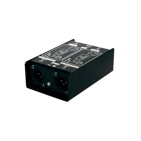 SM Pro Audio DJDI 2-Channel Direct Box - DJ DI Stereo
