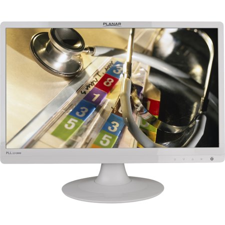 Planar Systems   997 6404 00   Planar Pll2210mw 22 Led Lcd Monitor   16 9   5 Ms   Adjustable Display Angle   1920 X