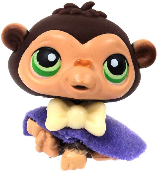 Littlest Pet Shop Monkey with Cape Loose Figure