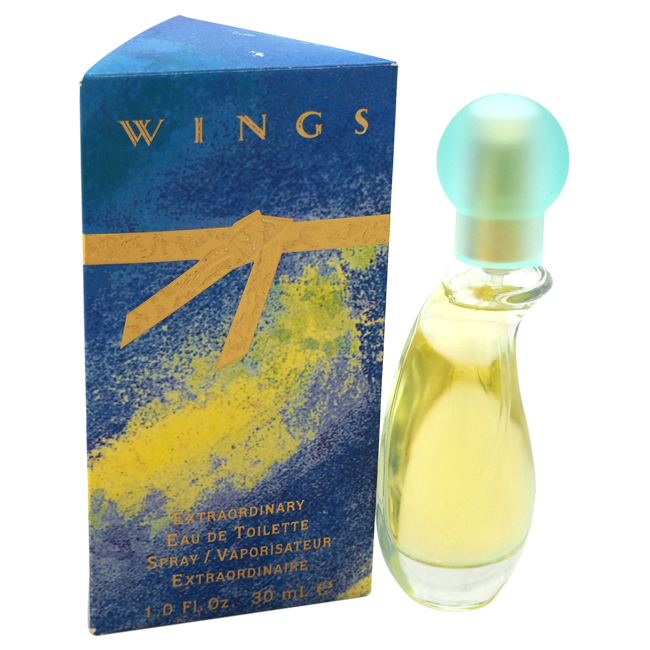 Wings by Giorgio Beverly Hills for Women - 1 oz EDT Spray