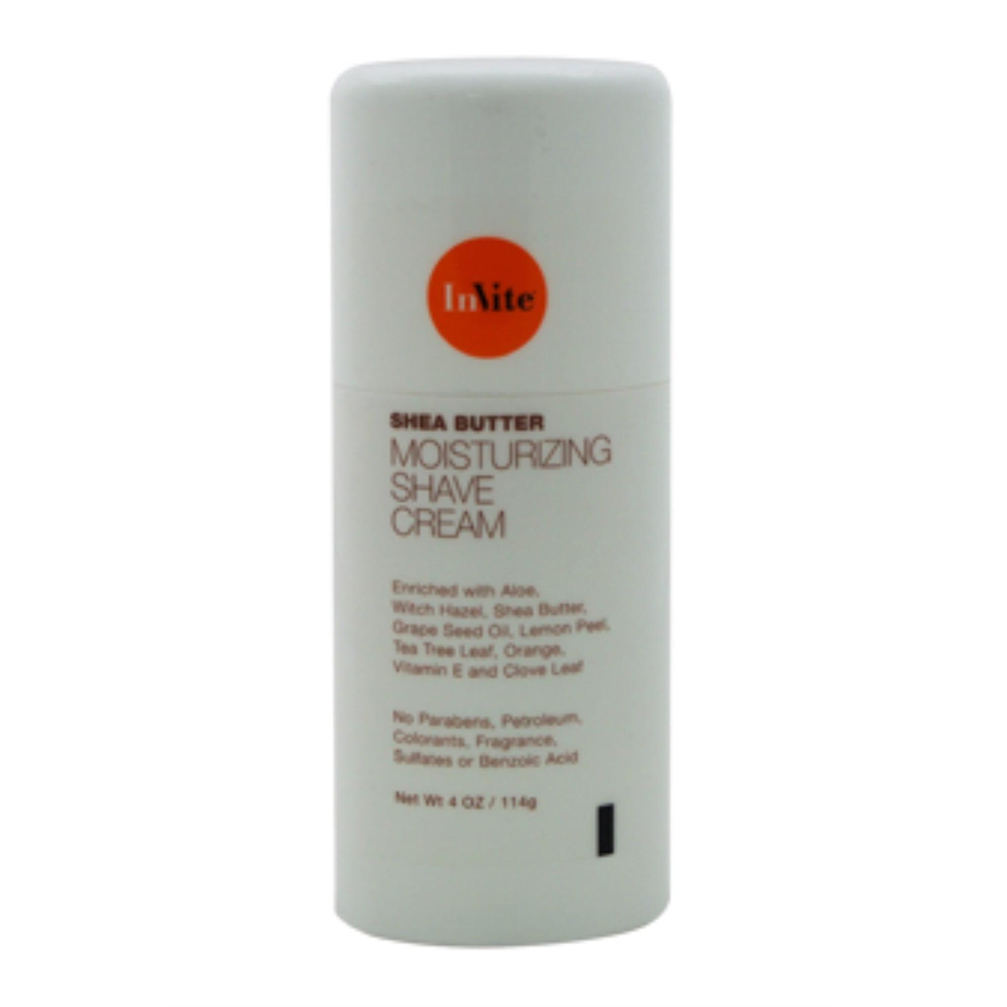 Moisturizing Shaving Cream by InVite Health for Men - 4 oz Shaving Cream - image 2 de 3