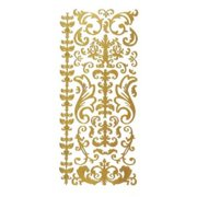 Dazzles Stickers Gold Stacked Star