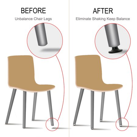 M8 x 17 x 45mm Furniture Glide Leveling Feet Floor Protector Desk Sofa Leg 12pcs - image 2 of 7