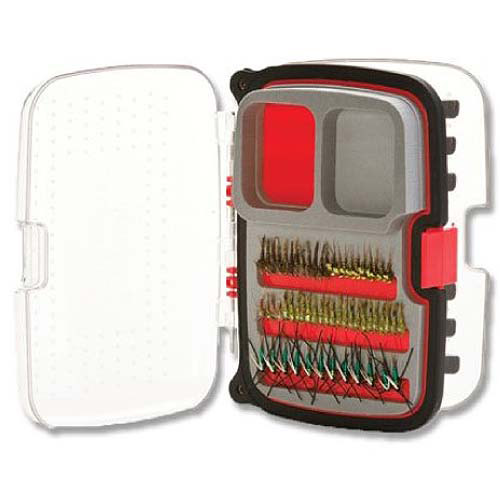 Scientific Anglers Max Nymph/Dry 446 Fly Box, Medium, Red