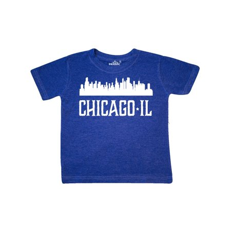 Chicago Illinois Skyline IL Cities Toddler T-Shirt