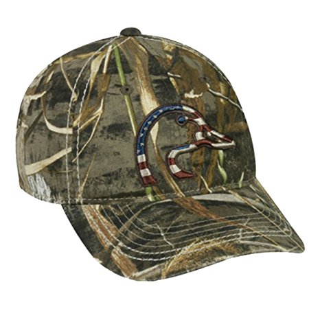 Ducks Unlimited Realtree Max-5 Camo Americana Logo Cap ...