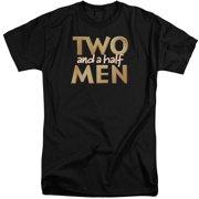 Two And A Half Men Logo Mens Big and Tall Shirt