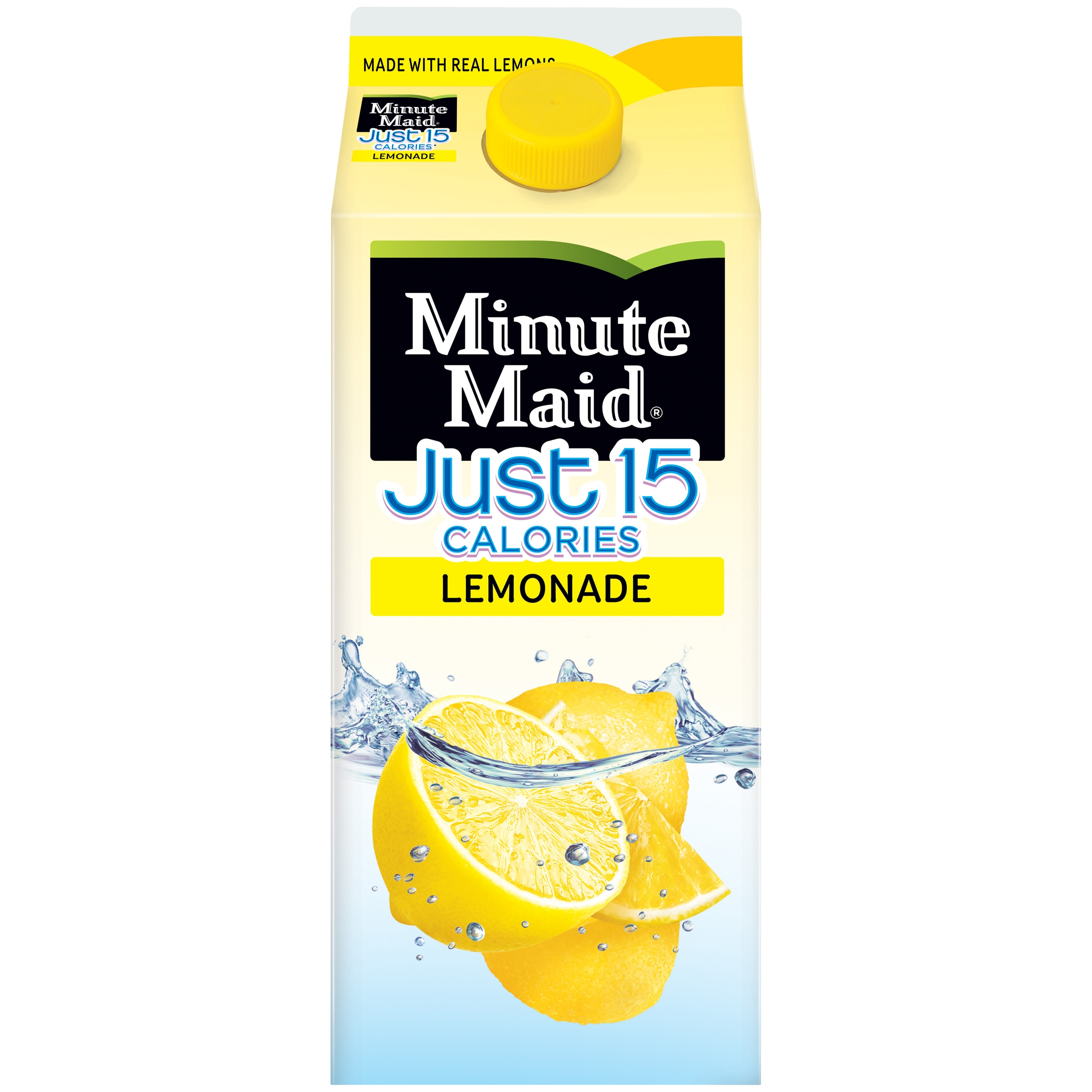 Minute Maid® Premium Just 15 Lemonade Flavored Fruit Drink 59 fl. oz. Carton