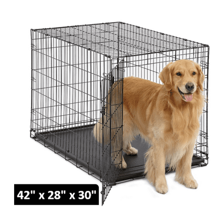 MidWest Single Door iCrate Metal Dog (Fabric Dog Crates)