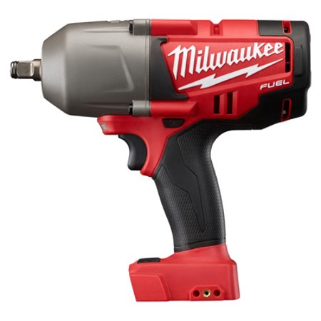 Milwaukee M18 Fuel 1/2-Inch High Torque Impact Wrench With Friction Ring, Bare Tool, No Battery Or Charger