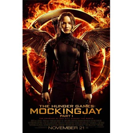 Pop Culture Graphics MOVIB73145 The Hunger Games - Mockingjay - Part 1 Movie Poster Print, 27 x 40