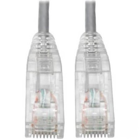 Tripp Lite Cat6 UTP Patch Cable (RJ45) - M/M, Gigabit, Snagless, Molded, Slim, Gray, 6 in. - 6
