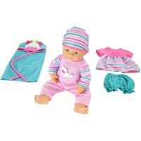 """My Sweet Love 12.5"""" 6-Piece Baby Doll & Outfits Play Set, Unicorn"""