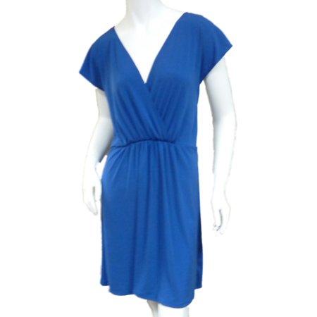 Tropical Escape Womens Blue Swim Suit Cover Up Sun