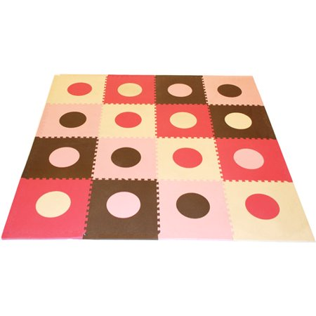 Seed Sprout - Playmat Set, Pink and Brown