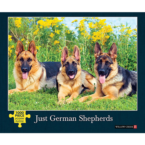 Just German Shepherds 1000 Piece Puzzle