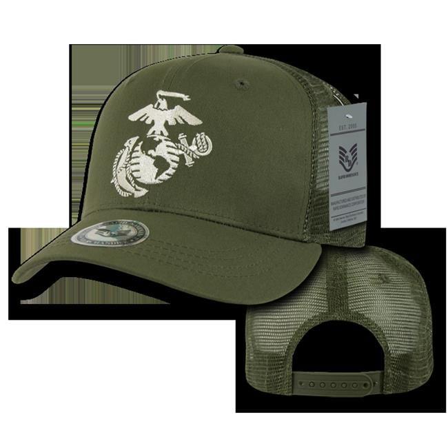 Olive Rapiddominance Marines Back to The Basics Mesh Cap