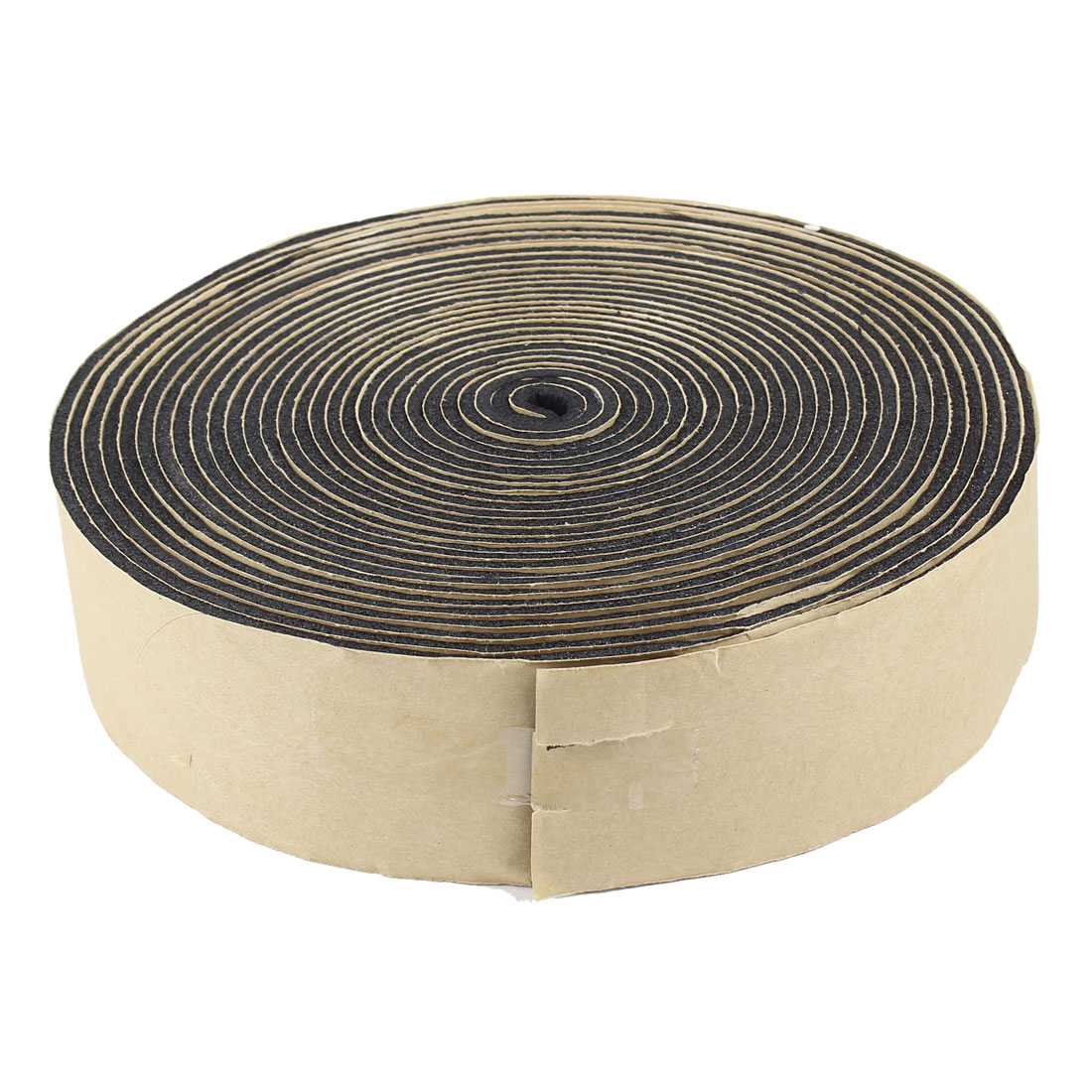 Unique Bargains Black Foam 3mm Thickness 5cm Width Self-Adhesive Insulating Seal Tape