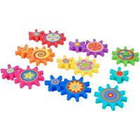 Spark. Create. Imagine. 15-Piece Magnetic Gears Play Set, Designed for Ages 3 and Up