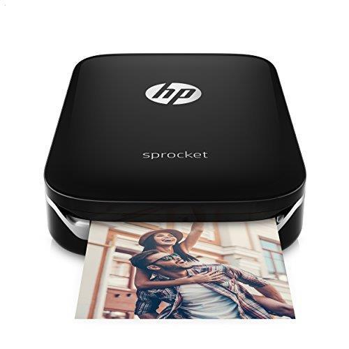HP Sprocket Portable Photo Printer Black X7N08A