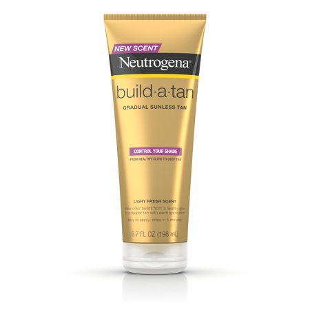 Bronze Gradual Self Tanning Lotion - Neutrogena Build-A-Tan Gradual Sunless Tanning Lotion, 6.7 fl. oz
