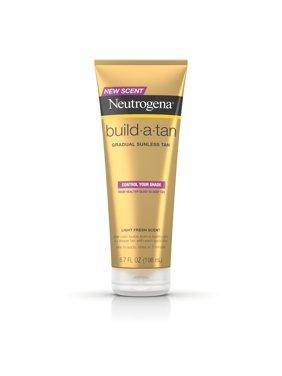 Neutrogena Build-A-Tan Gradual Sunless Tanning Lotion, 6.7 fl. oz