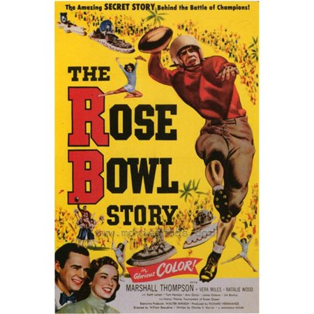 Posterazzi MOVAF3321 The Rose Bowl Story Movie Poster - 27 x 40 in. - image 1 of 1