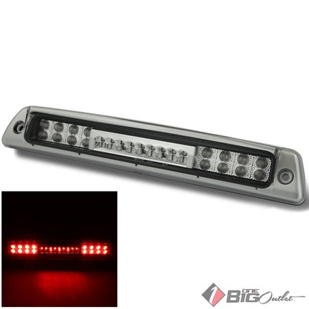 1994-2001 ram 1500, 1994-2002 2/3500 clear led 3rd brake light rear stop cargo 1995 1996 1997 1998 1999 2000