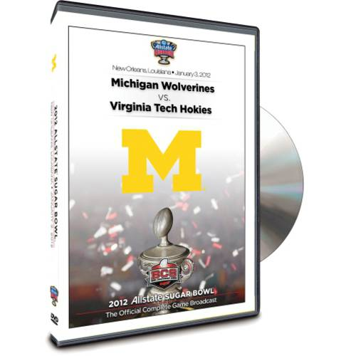 2012 Allstate Sugar Bowl: Michigan Wolverines Vs. Virginia Tech Hokies