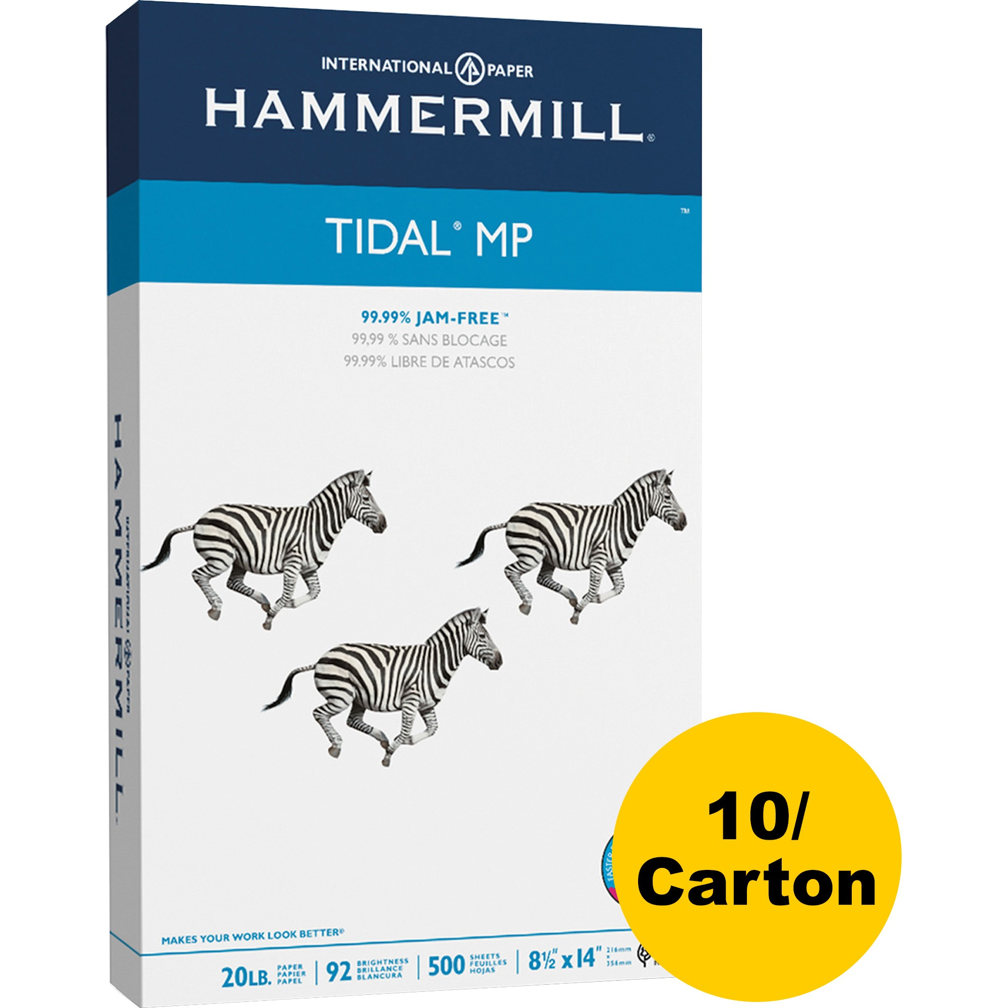 Hammermill, HAM162016CT, Tidal MP Paper, 5000 / Carton, White
