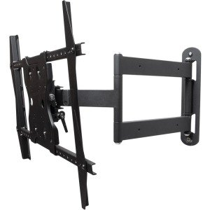 "SunBriteTV SB-WM-ART1-M-BL Mounting Arm for 65"" Flat Panel Display - Black"