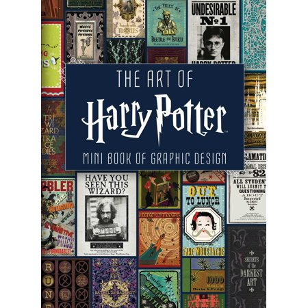 The Art of Harry Potter : Mini Book of Graphic Design (Harry Potter Book Art)