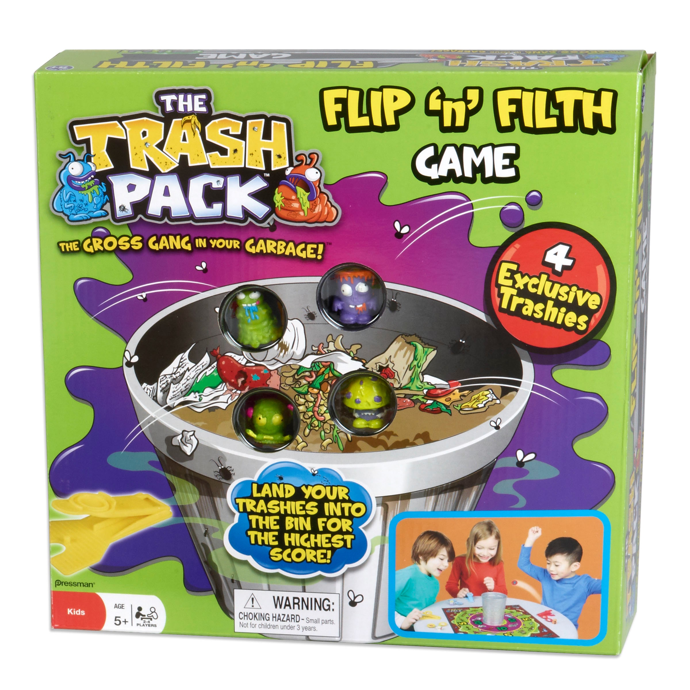 Pressman Toy The Trash Pack Flip 'N' Filth Game by Overstock