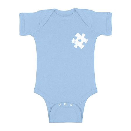 Girl Baby Bodysuit Top Shirt (Awkward Styles Autism Puzzle Short Sleeve Bodysuit Autism Awareness Short Sleeve Baby Bodysuit Autism Puzzle Gifts for Baby Boy and Baby Girl Autism Awareness Infant Shirt Autism Baby Bodysuit )