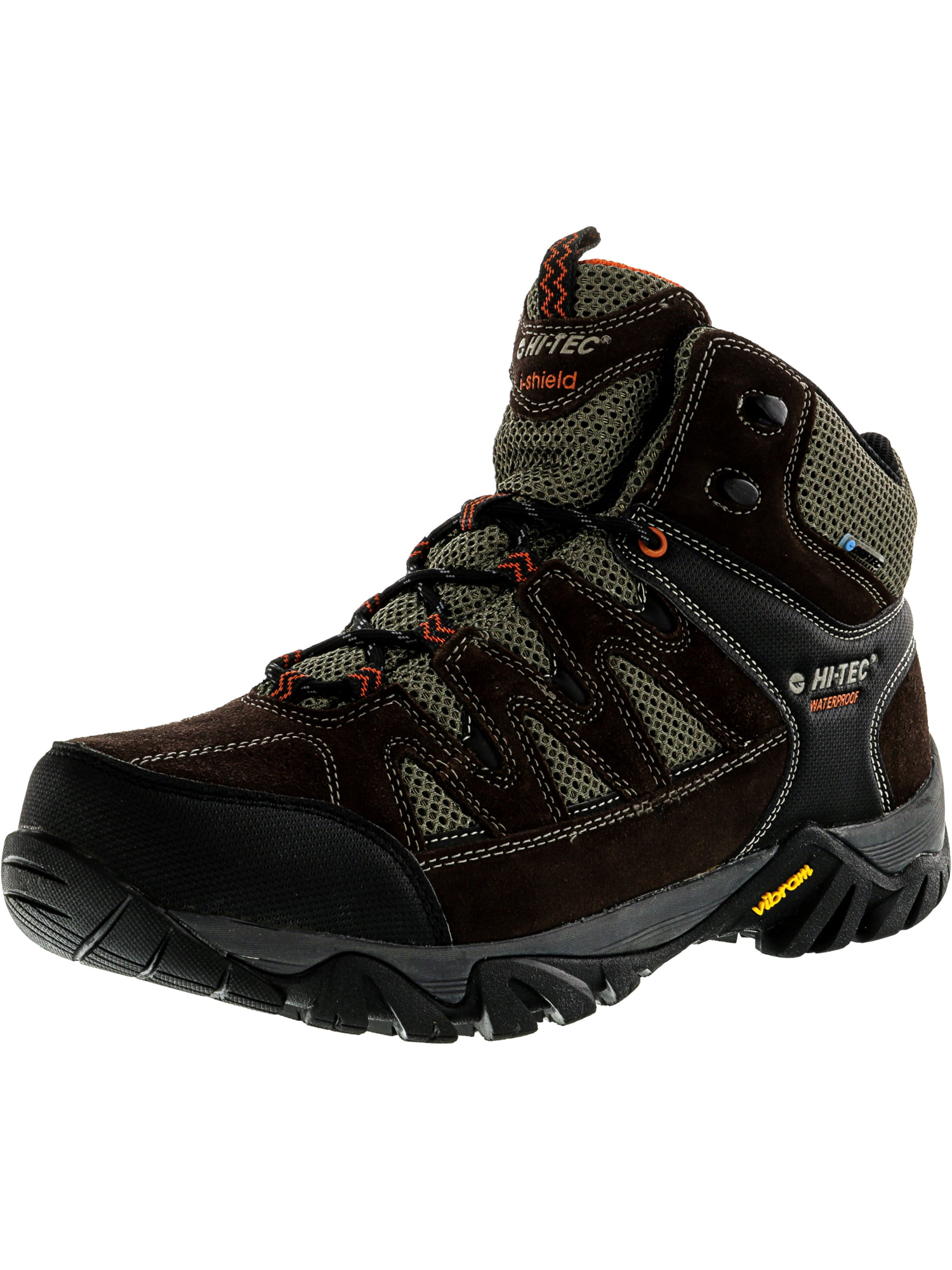 Hi-Tec Men's Sonorous Mid I Wp Chocolate   Red Rock Ankle-High Hiking Shoe 12M by Hi-Tec