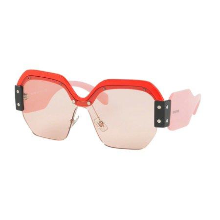 Sunglasses Miu MU 9 SS VIW4Q0 RED ()
