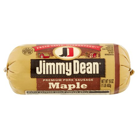 Jimmy Dean Maple Premium Pork Sausage, 16 oz - Walmart.com