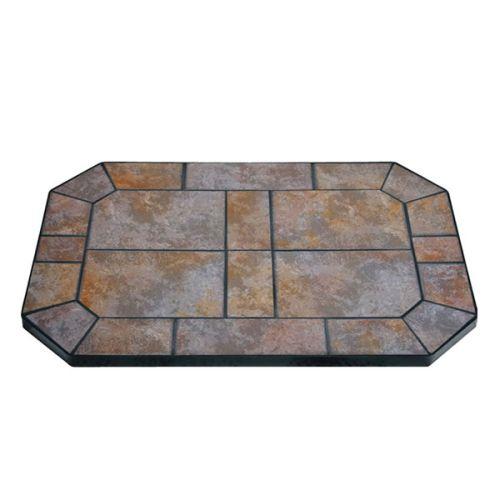 "Tartara Tile Stove Board, Octagon, 24"" x 36"""